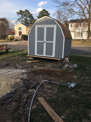 8x8 Wood Shed for Sale in Toms River, NJ