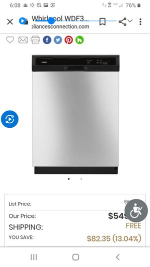 Appliance's whirlpool for Sale in San Antonio, TX
