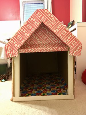 Crafted Cardboard Dog House for Sale in Manassas, VA