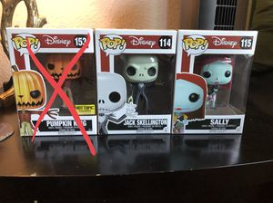 Funko Pop - Disney Nightmare Before Christmas for Sale in El Cajon, CA
