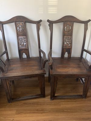 Antique wooden chairs for Sale in Ontario, CA