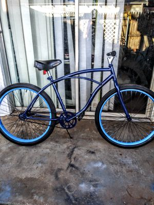 "26"" BLUE HUFFY CRUISER for Sale in Lubbock, TX"