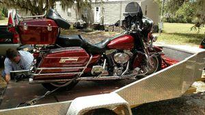 Harley Davidson Electra tra glide touring bike for Sale in Frostproof, FL