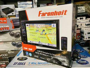 Fahrenheit Double Din with Navigation for Sale in San Bernardino, CA