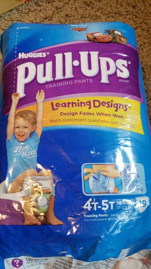 Huggies Pull Ups, Size 4T-5T for Sale in Burnsville, MN