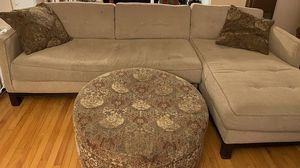 Sectional and ottoman for Sale in Vallejo, CA