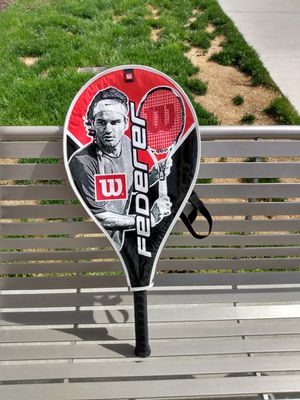WILSON Tennis Racket K- Arophite Black with cover for Sale in Salt Lake City, UT