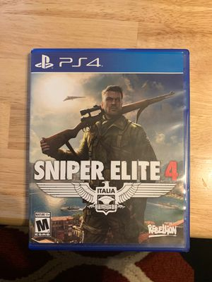 Sniper Elite 4 PS4 Game for Sale in Puyallup, WA