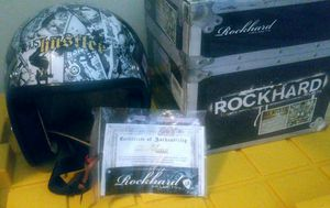 New Rockhard American Classic Hustler V2 Motorcycle Open Face Womens Helmet Black for Sale in Savannah, GA