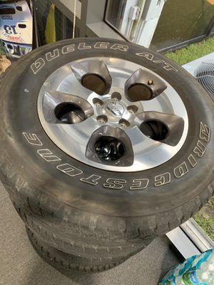 Jeep Wheels & Tires (full set) for Sale in Tamarac, FL