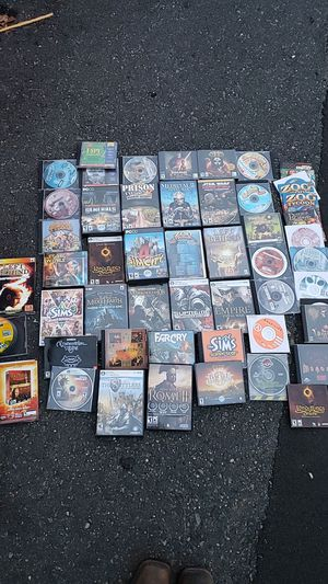 HUGE LOT OF 88 PC GAMES for Sale in Chesapeake, VA