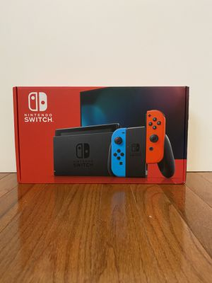 Brand new Nintendo switch unopened red and blue joycons for Sale in Shawnee Hills, OH