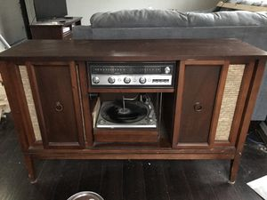 Antique Table w/ Record Player for Sale in Mount Airy, MD
