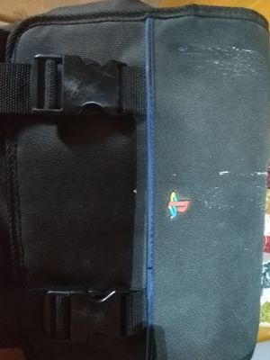 PS2 carrying case with cd case for Sale in Eagle Mountain, UT