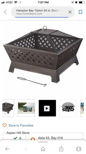 Fire pit moving sale !! for Sale in Rockville, MD