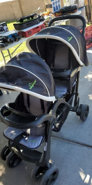 Double seat stroller almost brand new for Sale in Glendale, AZ