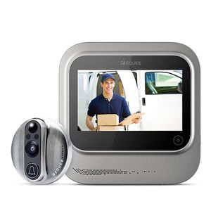 EQUES VEIU PEEPHOLE WIFI ENABLED NIGHT VISION HOME SECURITY CAMERA (iOS & ANDROID APP FUNCTION) for Sale in Perris, CA