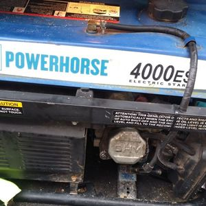 Nice Power Horse 4000 W Generator,, for Sale in Columbia, SC