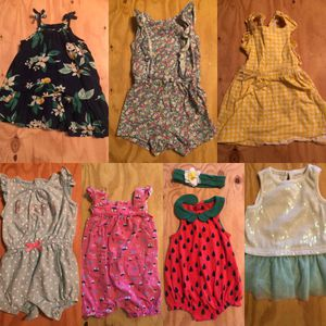 12 month old girls outfits, 16 total for Sale in Vancouver, WA