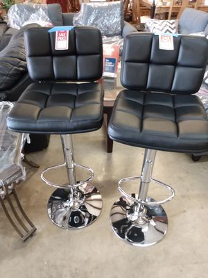 Black Leather Bar Stool for Sale in Orlando, FL