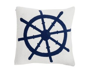 NEW - New Haven - Pure Cotton Knitted Pillow - The Helmsman. Retails for $108, Selling for ONLY $30!! for Sale in Jefferson City, MO