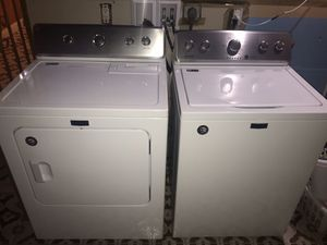 Maytag High Efficiency Washer and Dryer with warranty for Sale in North Bay Village, FL