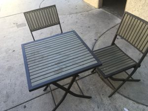 Porch/patio table and chairs for Sale in Los Angeles, CA
