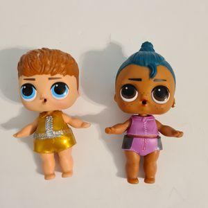 LOL Surprise! Dolls Boys 006 Luau & 007 Do-Si-Dude for Sale in St. Petersburg, FL