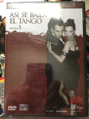 Dvd .. learn how to dance the tango/beginners direct from Argentina for Sale in Saint Paul, MN