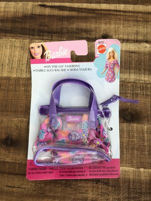 Barbie on the go Fashions bag for Sale in Santa Ana, CA