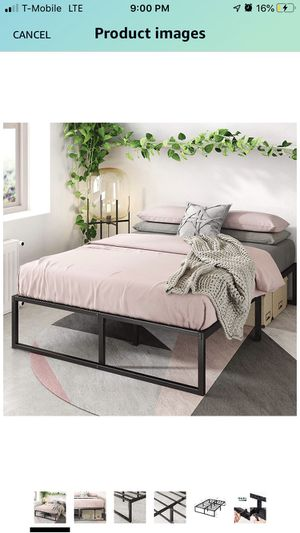 Full size memory foam mattress and frame for Sale in Portland, OR