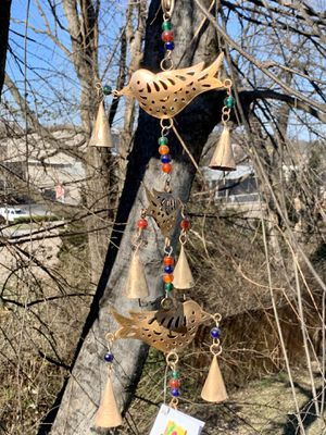 Metal Birds With Beads & Repurposed Bells Wind Chimes for Sale in Nashville, TN
