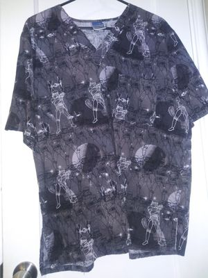 Storm Trooper Scrub Top (2XL MEN) for Sale in Bellflower, CA
