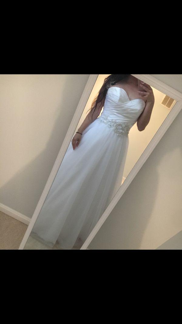 Allure wedding dress size 6