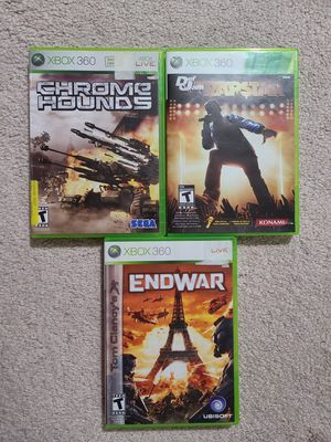 Three Xbox 360 Games for Sale in Fairfax, VA