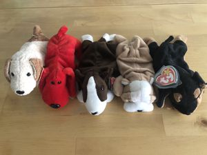 Ty vintage collectible beanie baby dog collection for Sale in Los Angeles, CA