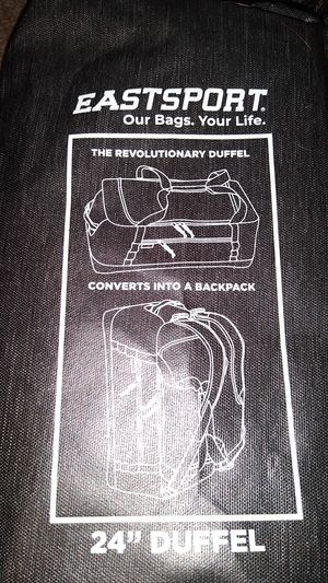 "24"" Duffle bag convert's to back pack for Sale in Hemet, CA"