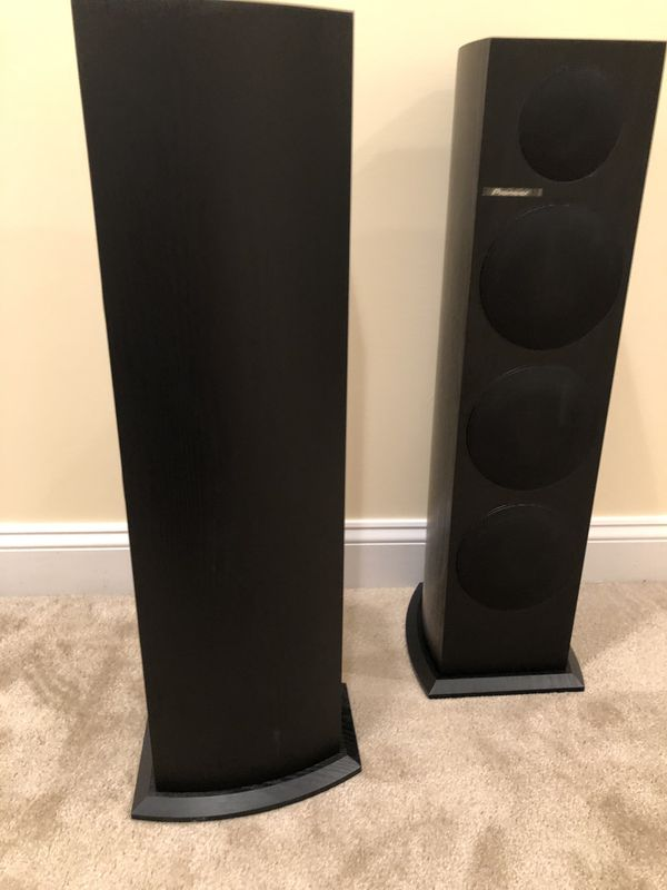 Pioneer floor standing speakers