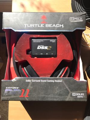 Turtle Beach DP11 Headset and surround sound Mixamp for Sale in Traverse City, MI