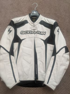 Scorpion leather motorcycle jacket for Sale in Covina, CA