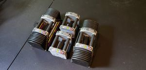 Powerblocks Commercial Adjustable Dumbbells Weight Set (5-90lb per hand) for Sale in Raleigh, NC