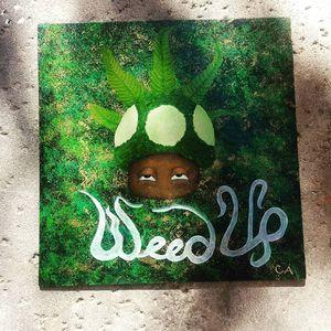 Weed Up Original 420 Art for Sale in Phoenix, AZ
