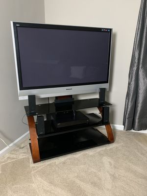 "Panasonic 50"" Plasma TV and TV Table for Sale in MONTGOMRY VLG, MD"