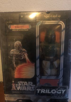 Large Size Boba Fett Action Figure: for Sale in Pleasant Hill, IA