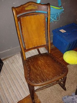 Antique rocking chair for Sale in Dayton, OH