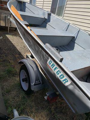 12 ft fishing boat Gregor for Sale in Woodburn, OR