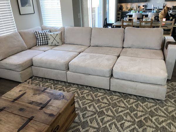 Lovesac Sactional 8 Based Amp 9 Sides Sectional For Sale