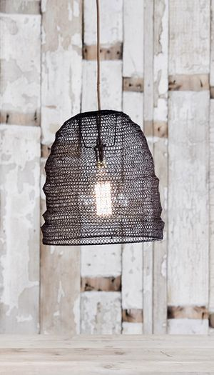 Industrial Metal Mesh pendant or lamp shade for Sale in Norfolk, VA