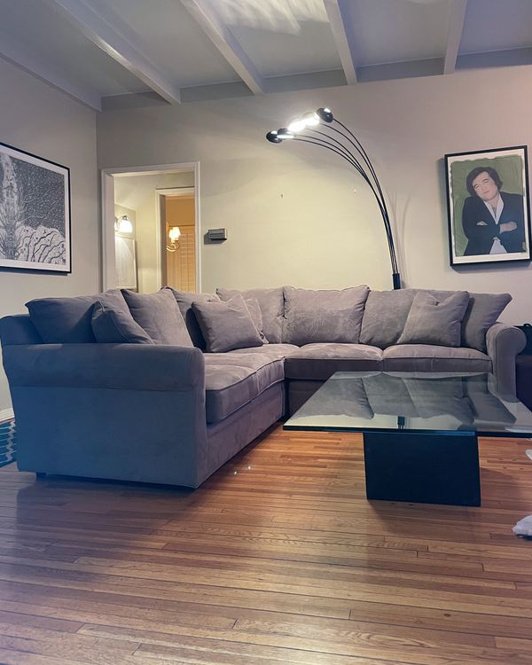 Macy's | Doss II Fabric L Sectional Collection Couch / Sofa