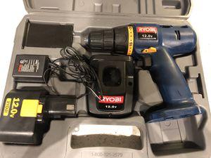 Ryobi 12v Power Drill Screwdriver for Sale in Atlanta, GA